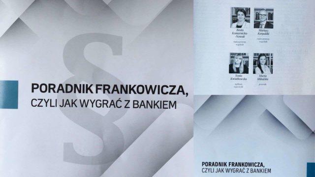 Poradnik frankowicza, czyli jak wygrać z bankiem.